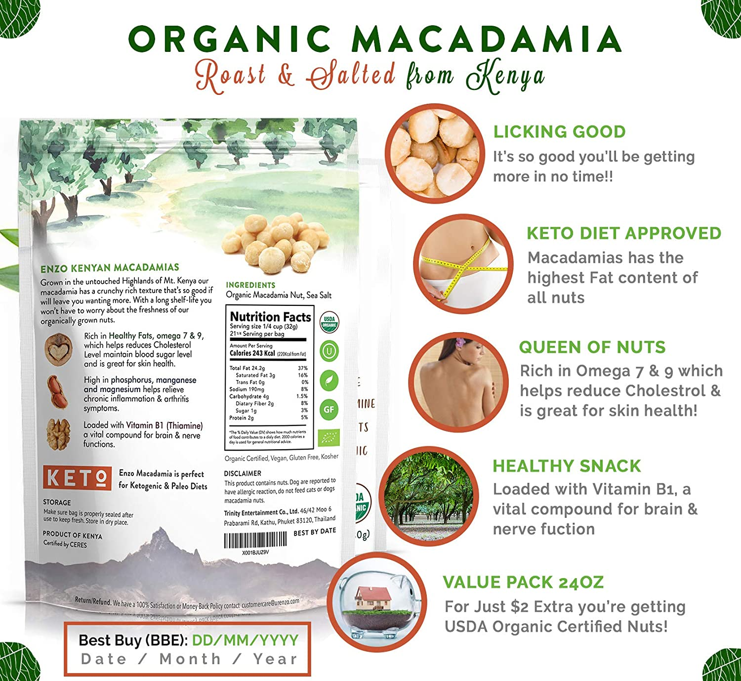 best macadamia nuts amazon
