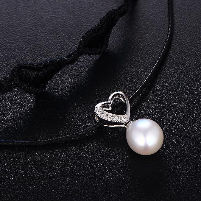 Amazon.com: Hengsheng - Gargantilla de perlas barrocas de ...
