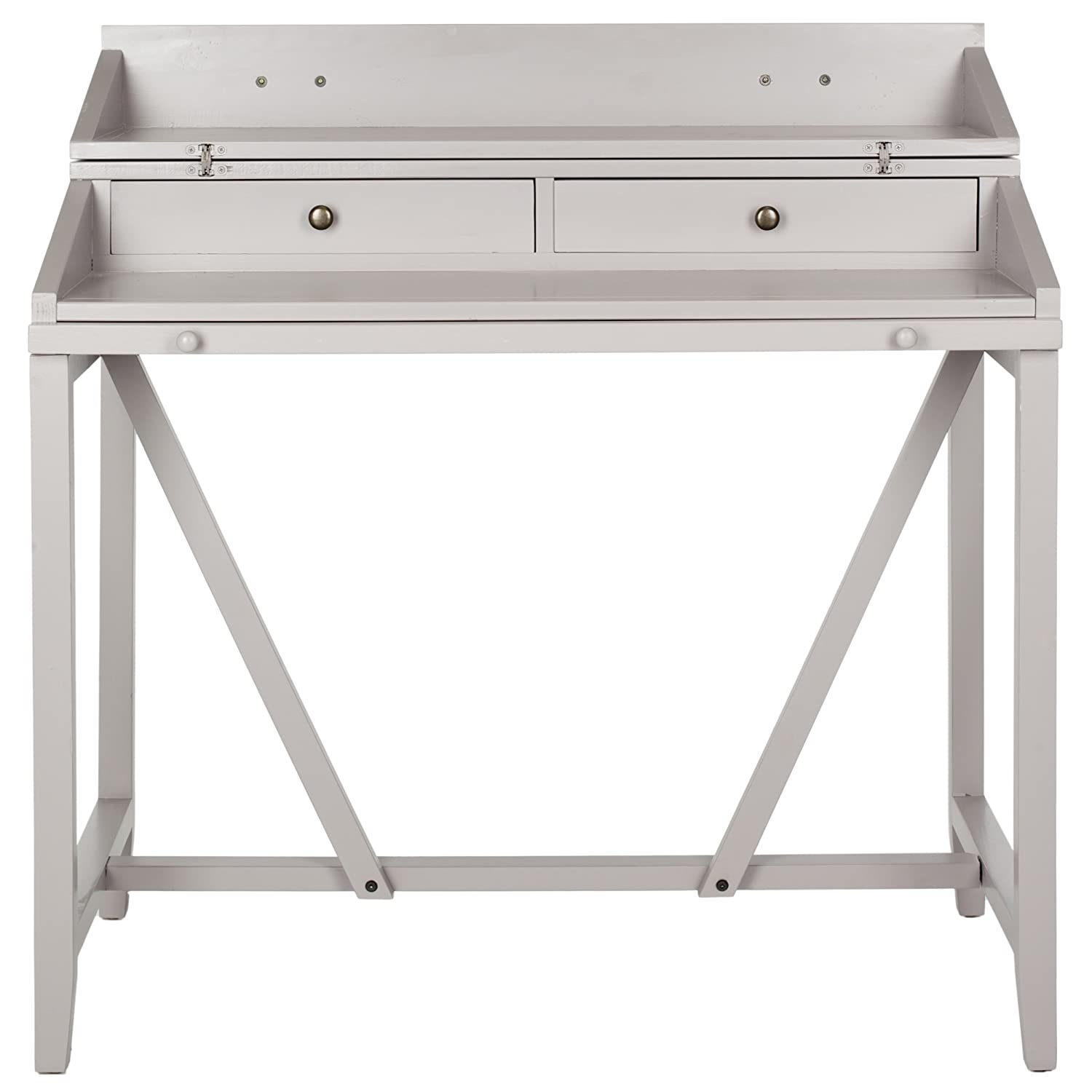 gray simple with design designs two writing of drawers desks desk elegant