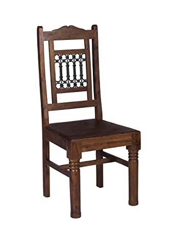 Stylla London Solid Jali Sheesham Wooden Chairs Dinning Table Living