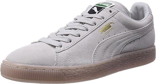 puma Suede Classic+ ICED graulila: : Schuhe