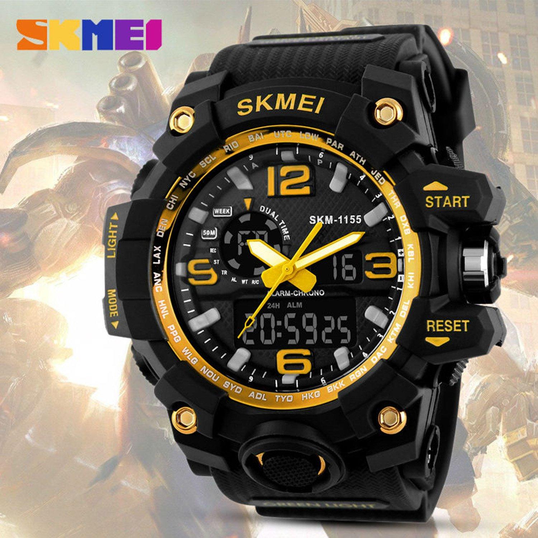 16b6bcd770f5 Reloj digital para deportes al aire libre con luz LED