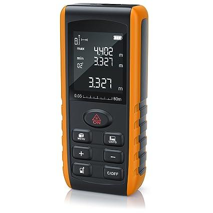 Fabulous Brandson - 60m Laser Entfernungsmesser - Laser: Amazon.de: Elektronik OX63