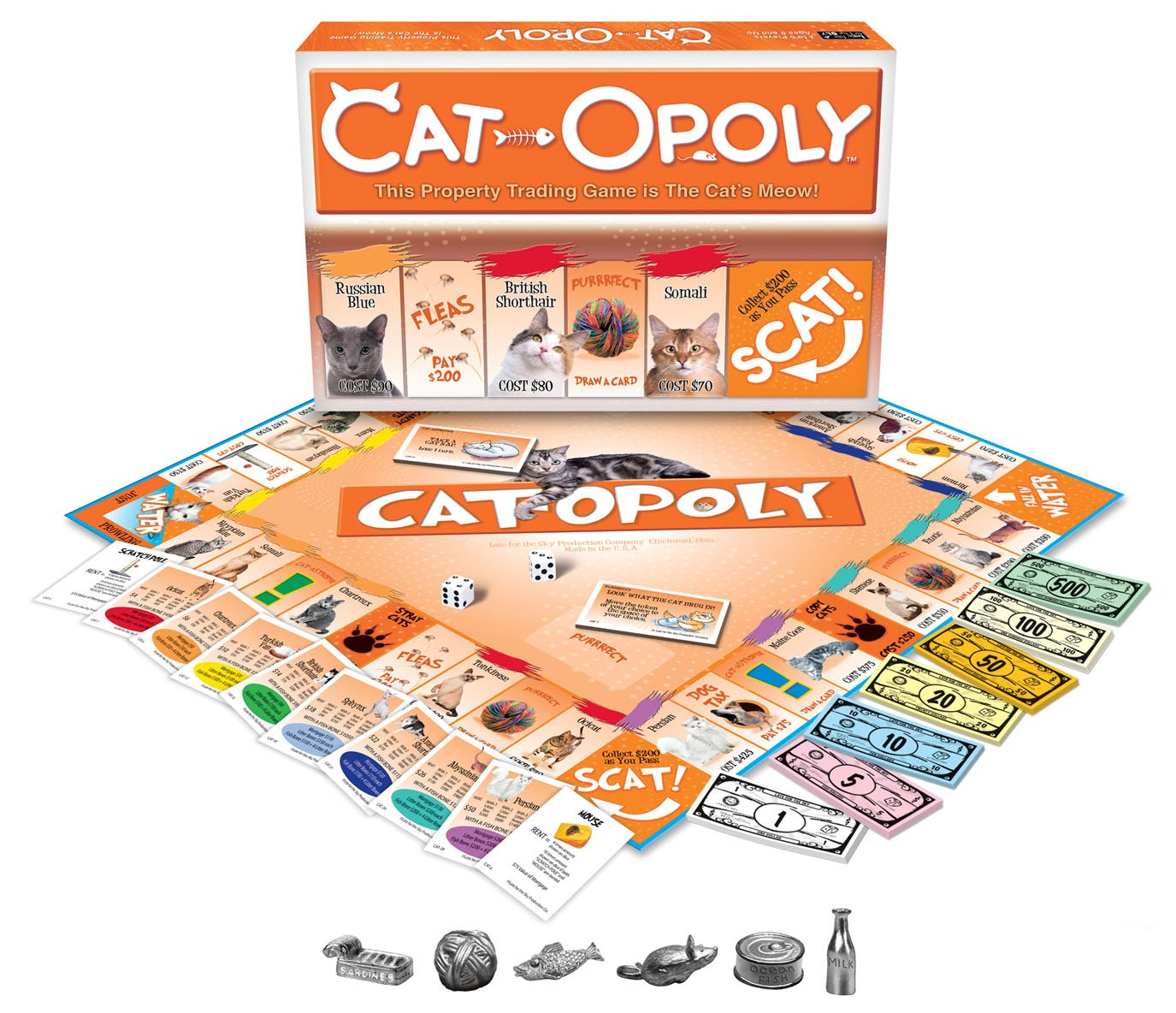 Late for the Sky Cat-Opoly