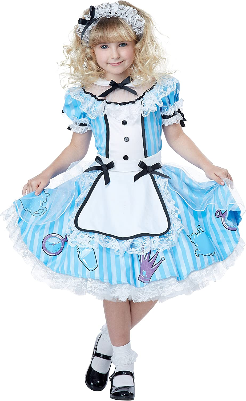 Deluxe Alicia en el país de las maravillas disfraz para niños ...