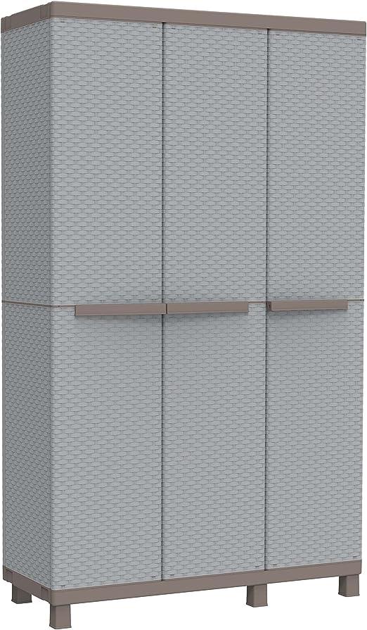 Armadio Rattan Da Esterno.Terry Store Age Spa 102a Armadio Da Esterno Multifunzionale Tre