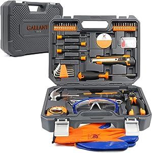 Tool kit for home - Tool Set - Home Tool Kits - Tools Set - Car Tool Kit - Tool Box Set - Tool Sets For Men and Women