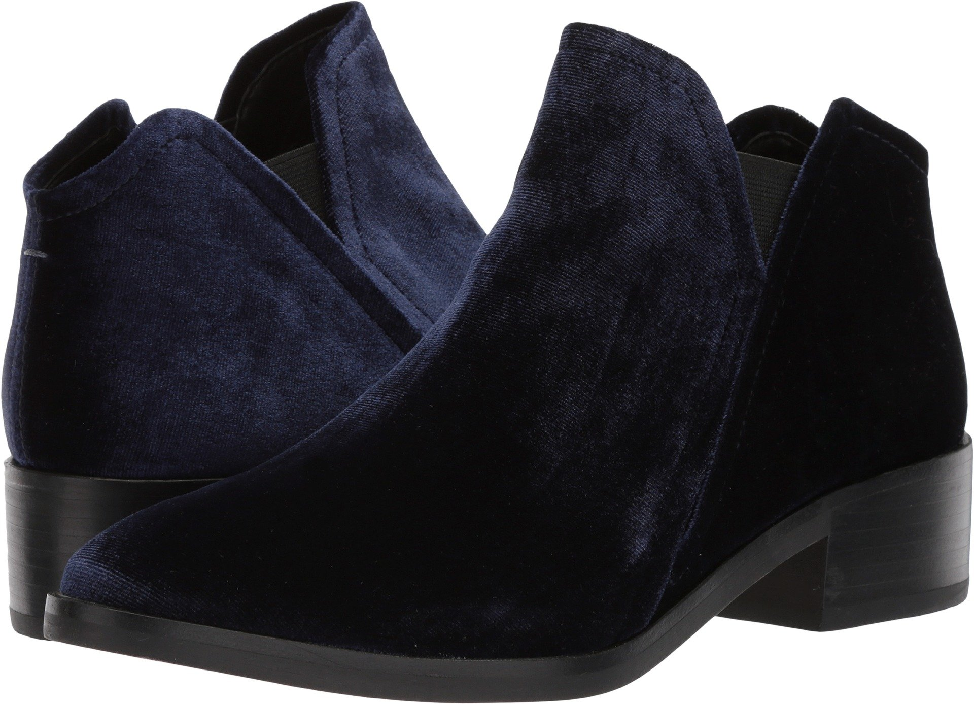 Dolce Vita Women's Tay Ankle Boot, Navy, 9.5 M US
