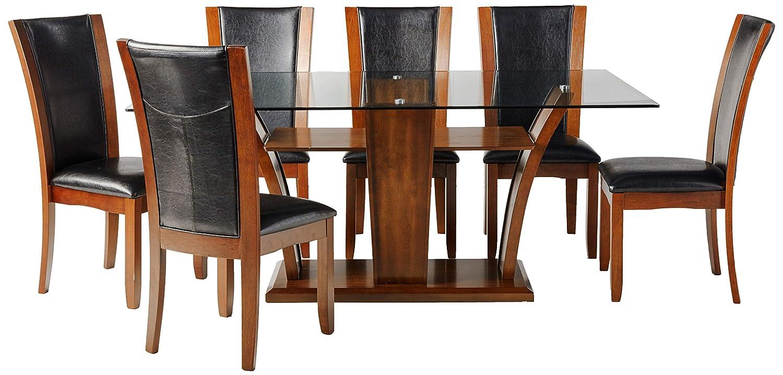 247SHOPATHOME dining-room-sets, 7-Piece, Espresso