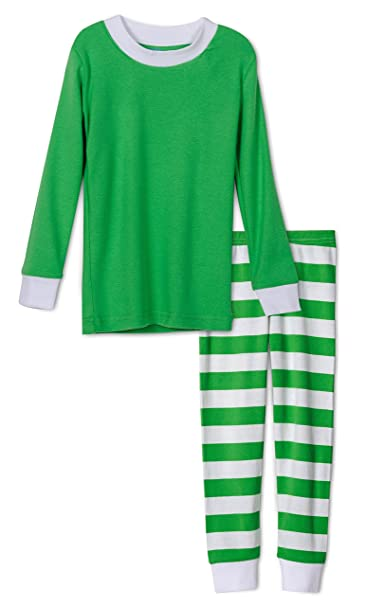 Amazon.com  Soft Green Striped Boys 2 Piece Pajama Set 3b52e11e3