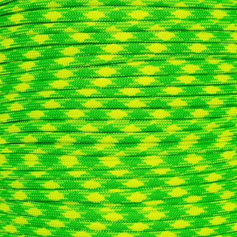 550 Paracord Oceans of Fire 100 FT USA MADE /& SELLER same day shipping