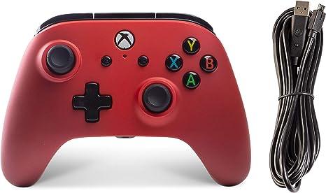 Mando Con Cable Mejorado Crimson Fade (Xbox One): Amazon.es: Videojuegos