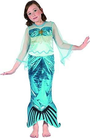 Disfraz sirena niña 10-12 años (140/152): Amazon.es: Juguetes y juegos