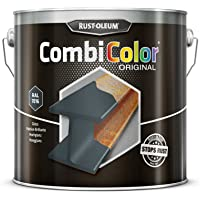 RUST-OLEUM 7389.2.5 COMBICOLOR metal protection, direct to rust, Anthracite grey