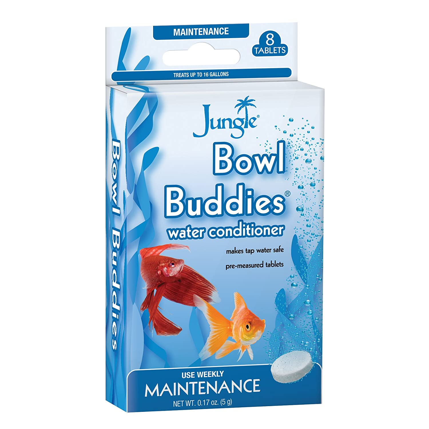 Amazon Jungle BB730W Bowl Bud s Water Conditioner Tablets 8