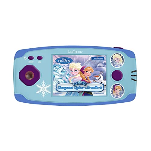 LEXIBOOK Jl2360fz-3Compact Cyber Arcade Barbie–140Jeux