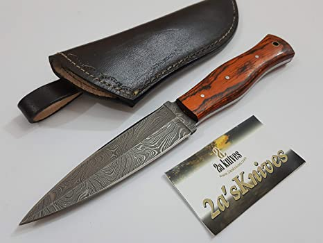 Amazon.com: Damasco personalizado hecho a mano de acero para ...