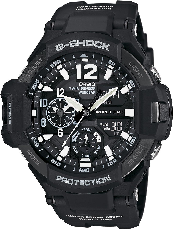 CASIO G-SHOCK SKY COCKPIT GA-1100-1AJF Man s