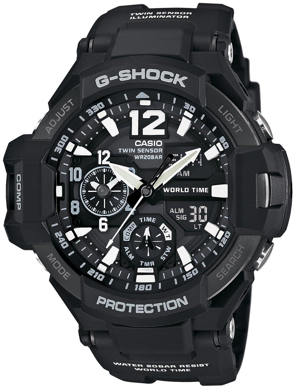 [カシオ]CASIO 腕時計 G-SHOCK ジーショック GRAVITYMASTER GA-1100-1AJF メンズ B00V2OOVT4