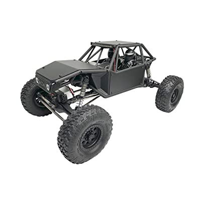 Luxury RC Black Aluminum Body Panel Kit for Axial Capra: Toys & Games