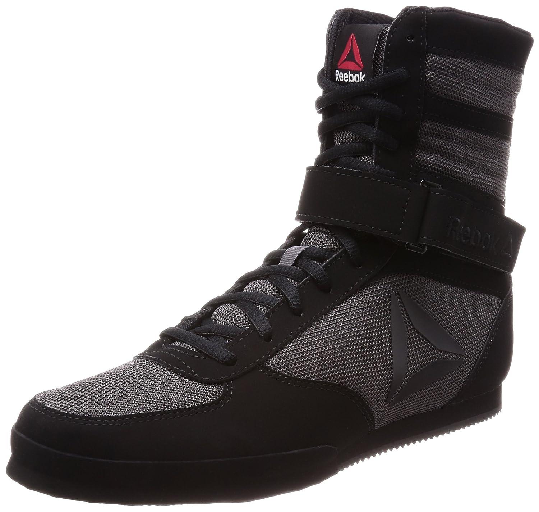 Reebok Boxing Boot-Buck, Zapatillas de Boxeo para Hombre Negro (Black/Ash Grey 000) 46 EU CN0977