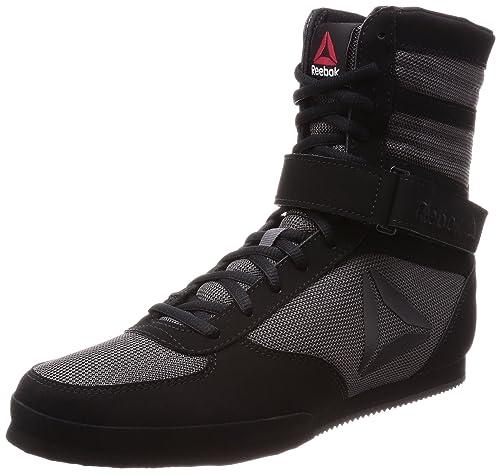 Reebok Boxing Boot-Buck, Zapatillas de Boxeo para Hombre, Negro (Black/
