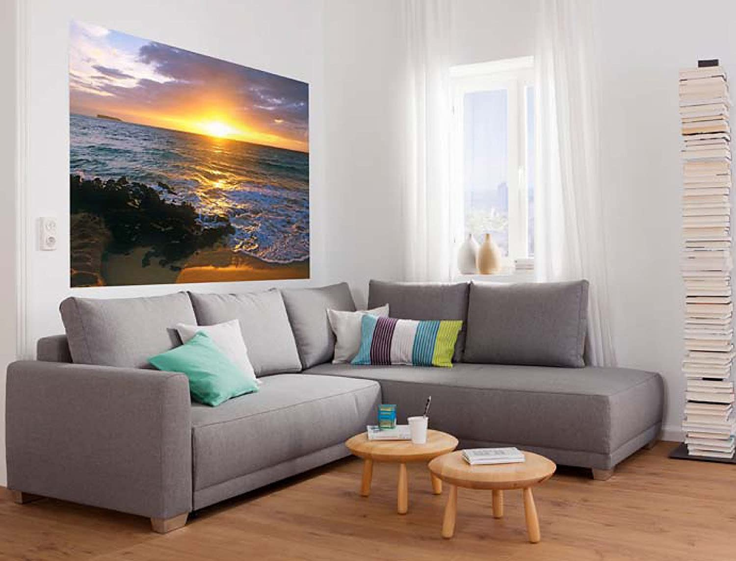 Komar 1607 Single Panel Wall Mural Makena Beach 72inch by 50