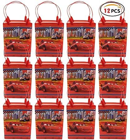 Qemsele Bolsas Regalo Bolsas de Fiesta con Asas 12Pcs Bolsas ...