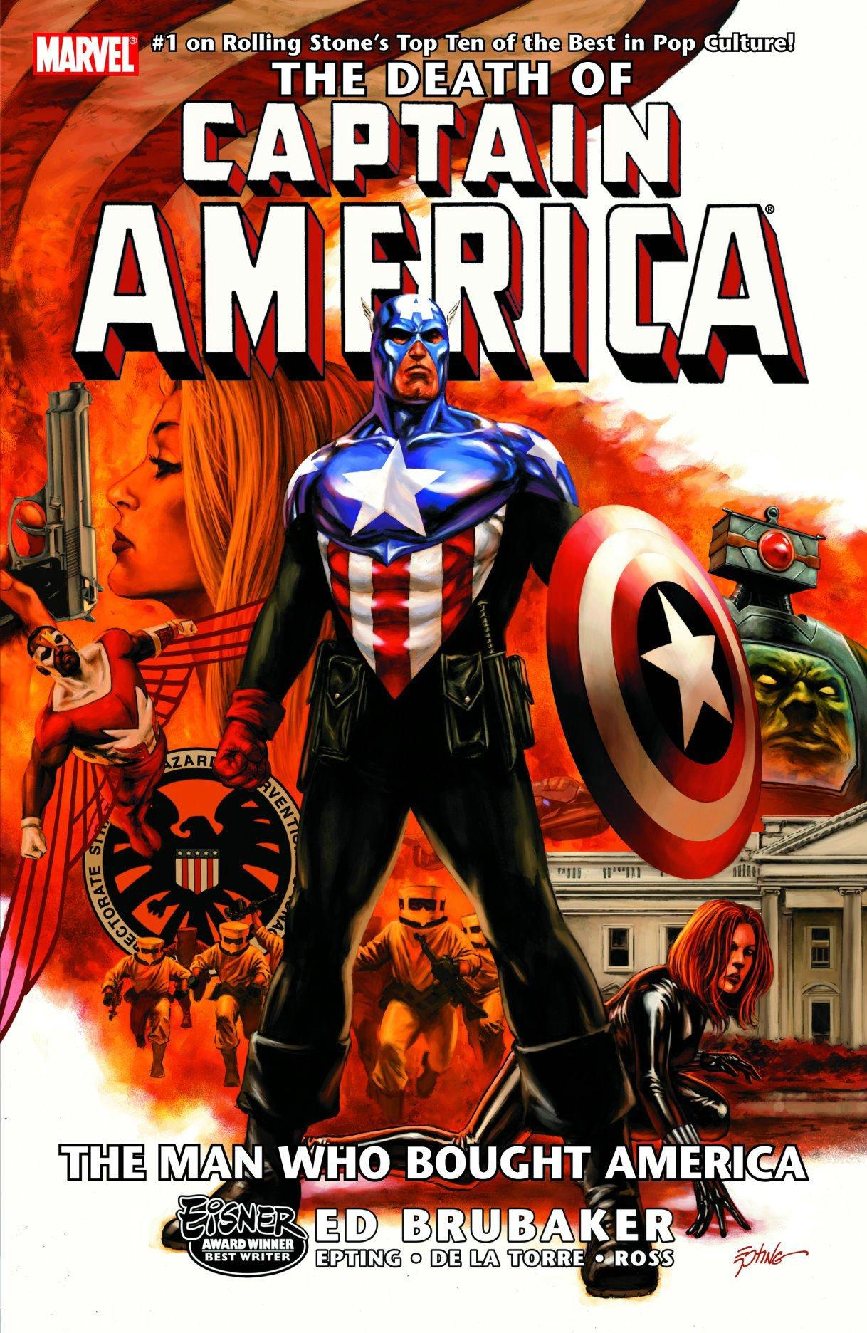 The Death of Captain America, Vol. 3: The Man Who Bought America pdf epub