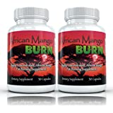African Mango Burn (2 Bottles) - The Ultimate African Mango Fat Burning, Weight Loss, Appetite Suppressing Diet Pill
