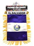 El Salvador Flag Small car Automobile Accessories