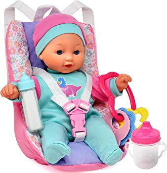 Dolls To Play Traveling 12-Inch Baby Doll