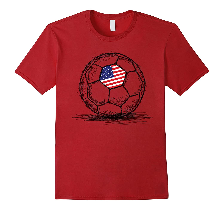 2a5c0da817b Team Games US USA America Soccer Football Jersey T-Shirt-CL – Colamaga