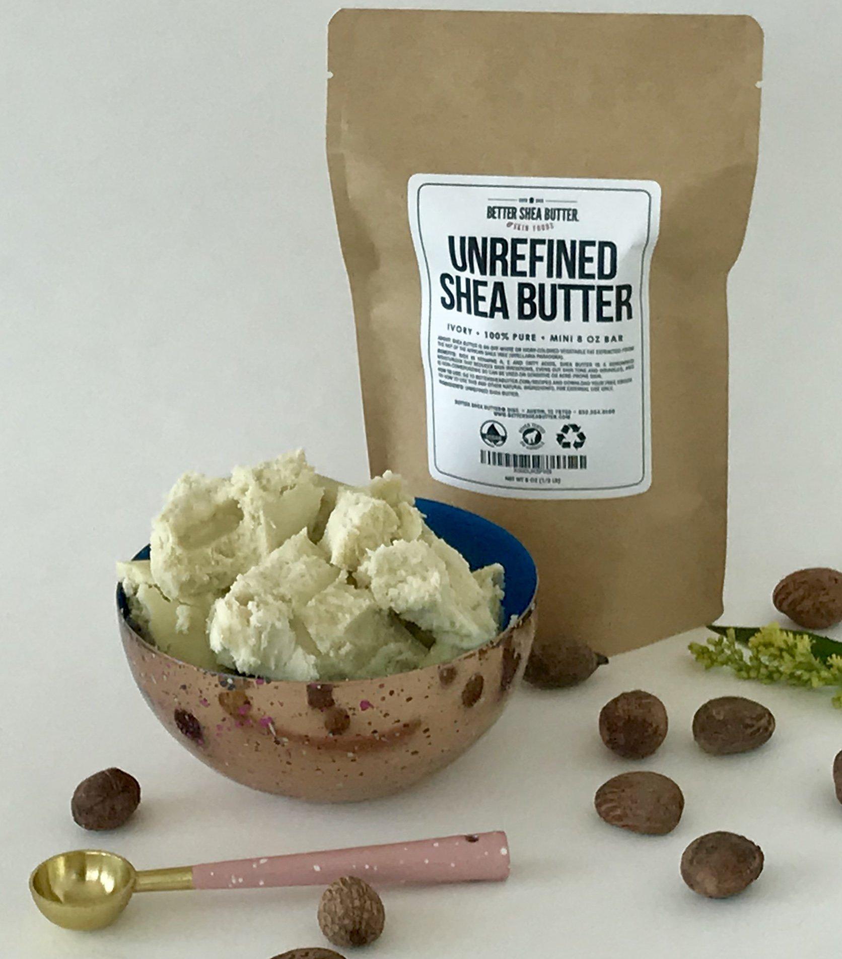 Unrefined Shea Butter by Better Shea Butter - Ivory - 1 lb by Better Shea Butter (Image #4)