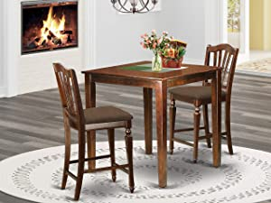3 PC counter height Dining set - counter height Table and 2 counter height Chairs.