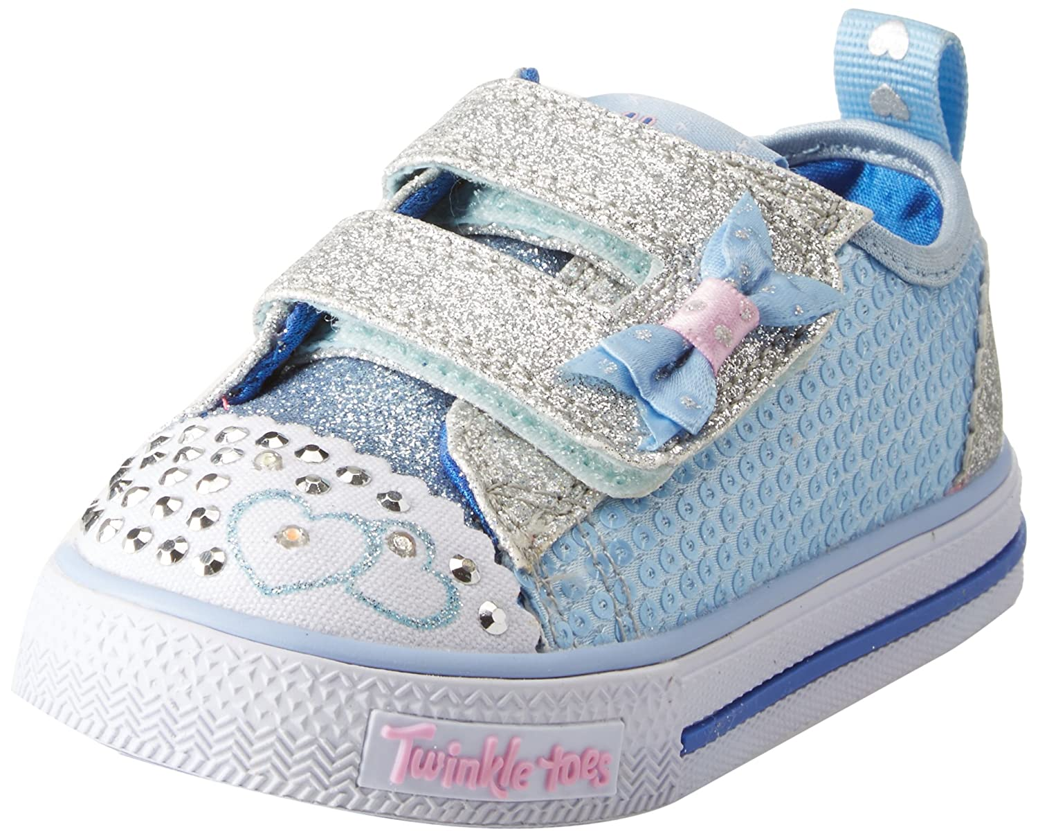 Skechers Baby Girls' Shuffles-Itsy Bitsy Trainers 10764N