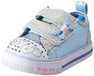 073fa5b44c0b Skechers Baby Girls  Shuffles-Itsy Bitsy Trainers  Amazon.co.uk ...