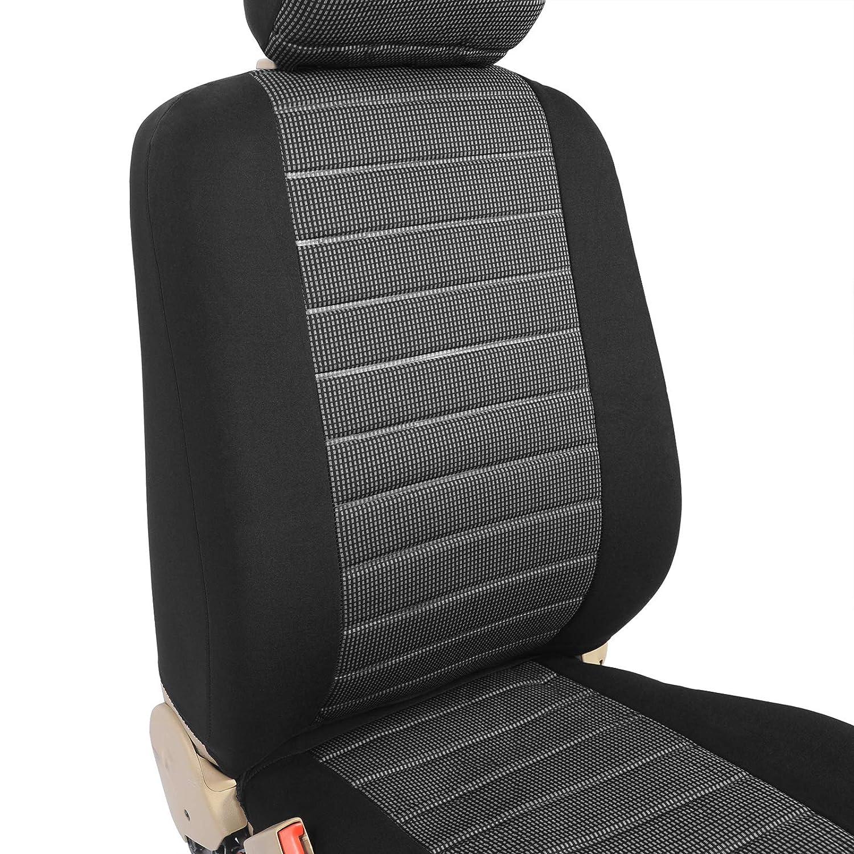 7er Set WOLTU 7233-7 Sitzbez/üge Auto Einzelsitzbezug universal Gr/ö/ße schwarz//rot