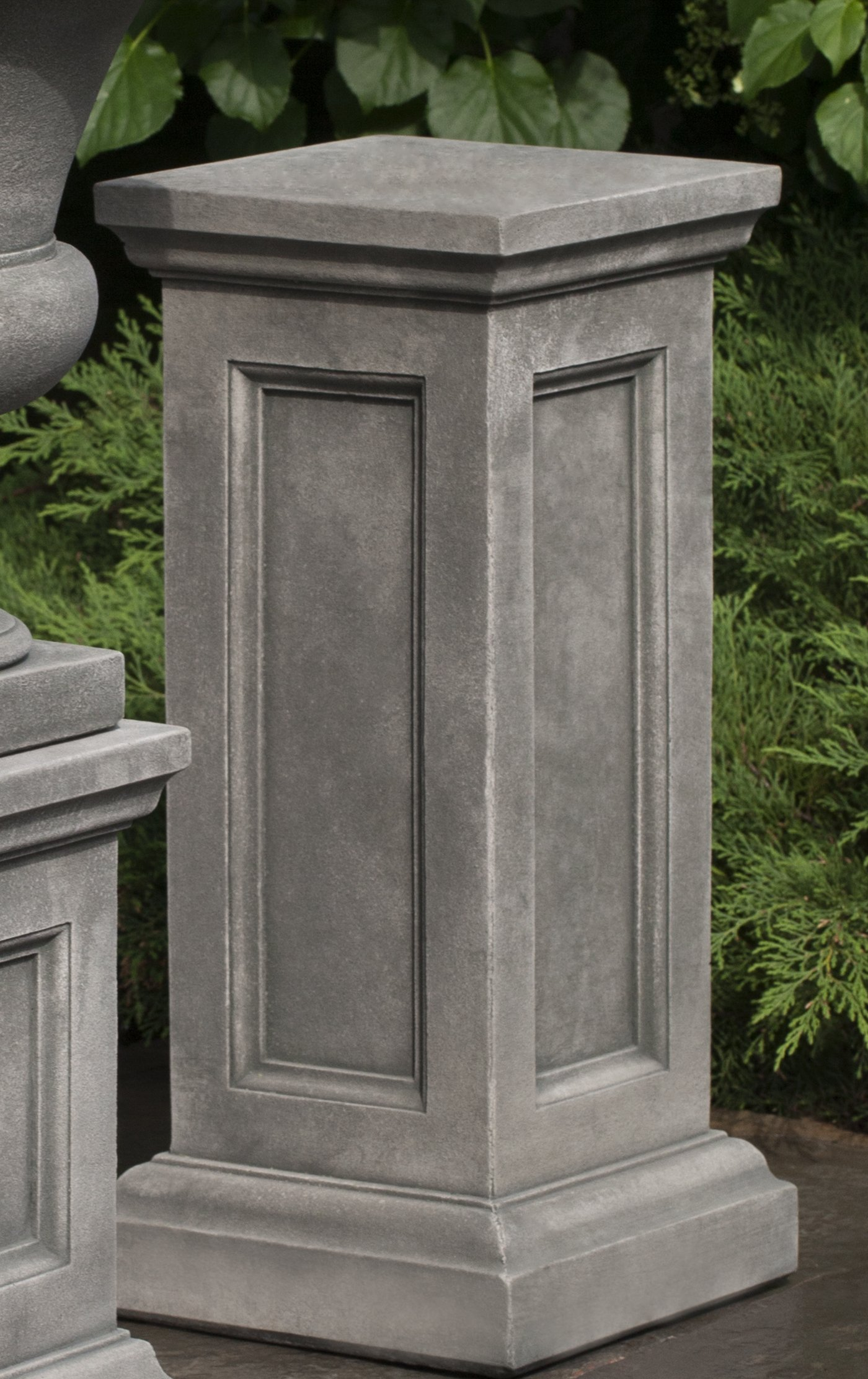 Campania International PD-204-VE Lenox Pedestal, Tall, Verde Finish