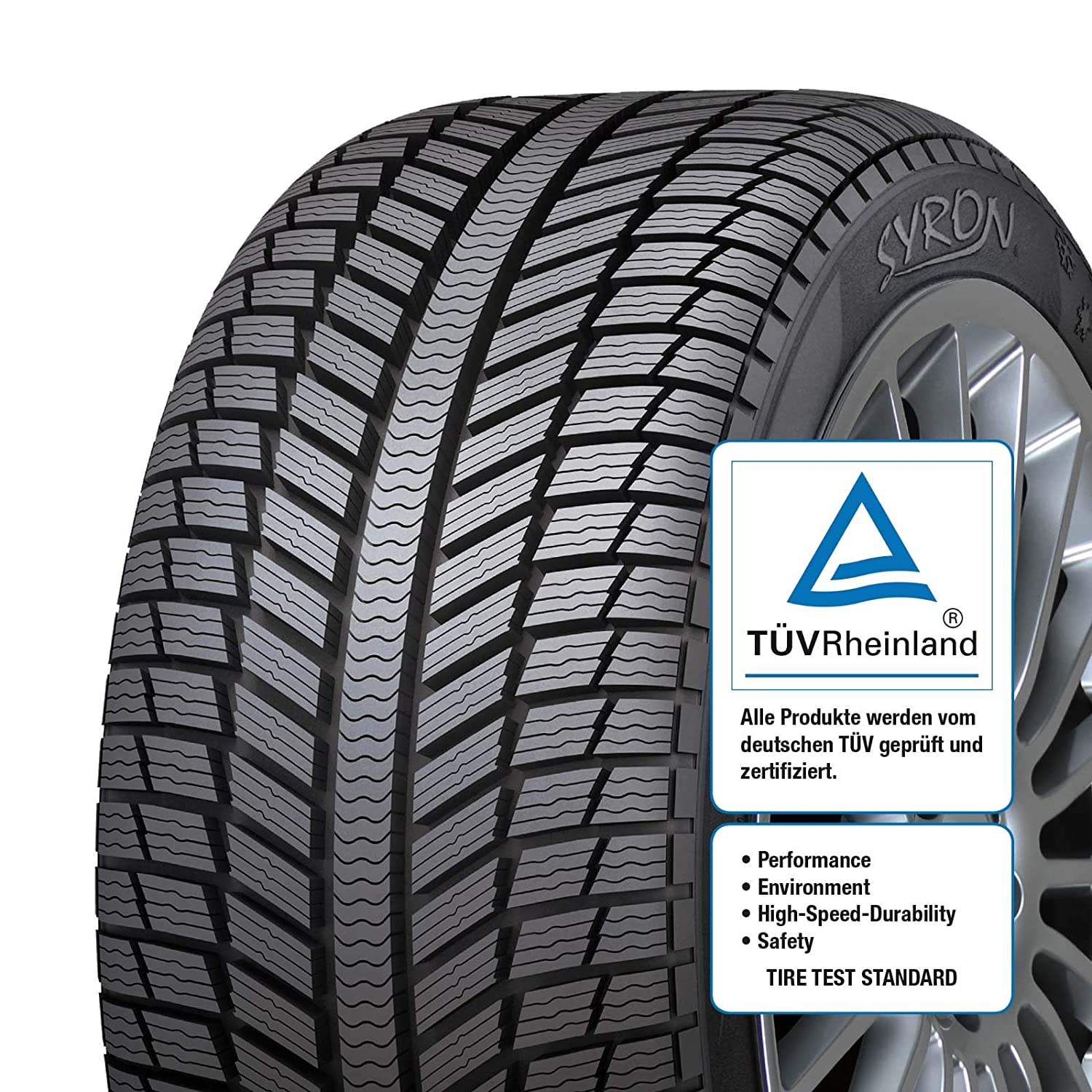 SYRON Tires EVEREST1 Plus XL 225//45//17 94 V E//B//72Db Winter PKW