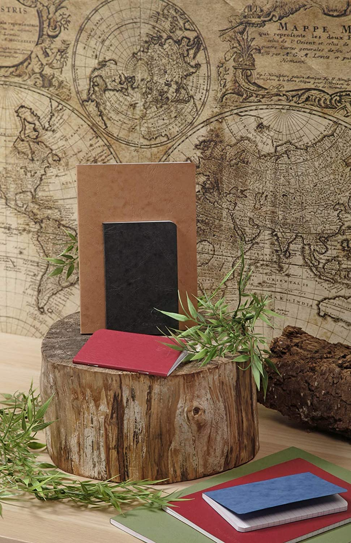 couverture Noire Un cahier dos toil/é Age Bag 192 pages 21x29,7 cm lign/ées Clairefontaine 791461C