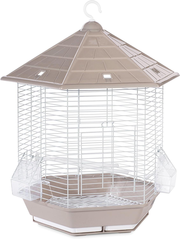 Prevue Pet Products SP31998GRAY/BROWN Copacabana Bird Cage, Stone