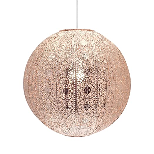 Moroccan ball ceiling light fitting lamp shade modern chandelier moroccan ball ceiling light fitting lamp shade modern chandelier copper aloadofball Gallery