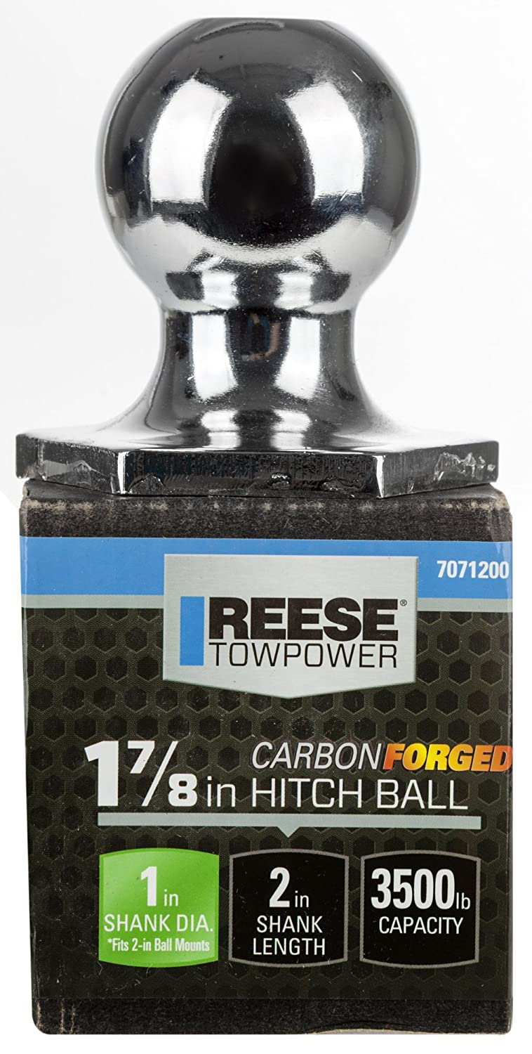 Reese Towpower 7071200 Carbon Forged 1-7//8 Chrome Interlock Hitch Ball
