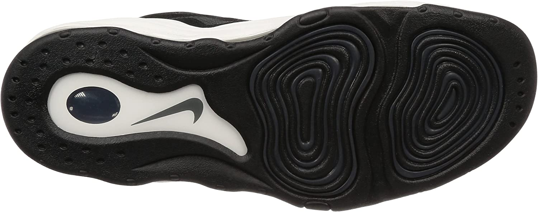 Nike Scarpe Uomo Air Pippen in Pelle Nera e Bianca 325001