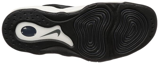 5a1a9e08 Zapatos NIKE Air Pippen para Hombre en Cuero Blanco y Negro 325001-004:  Amazon.es: Zapatos y complementos