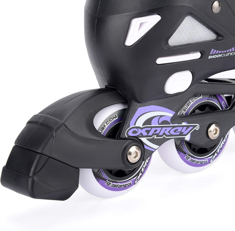 Osprey Kids Roller Blades, Adjustable Inline Skates - 2