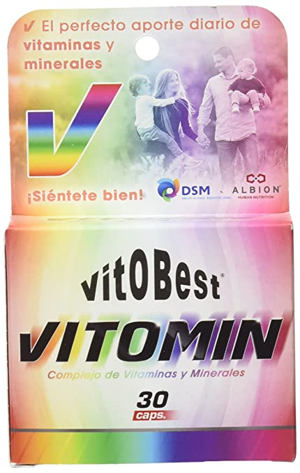Vitobest Vitamin & Mineral Complex - 4 Paquetes de 120 gr - Total: 480 gr