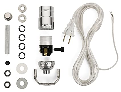 lamp wiring kit lamp making kits allow you to make repair and rh amazon com lamp wiring kit lowes lamp rewire kits