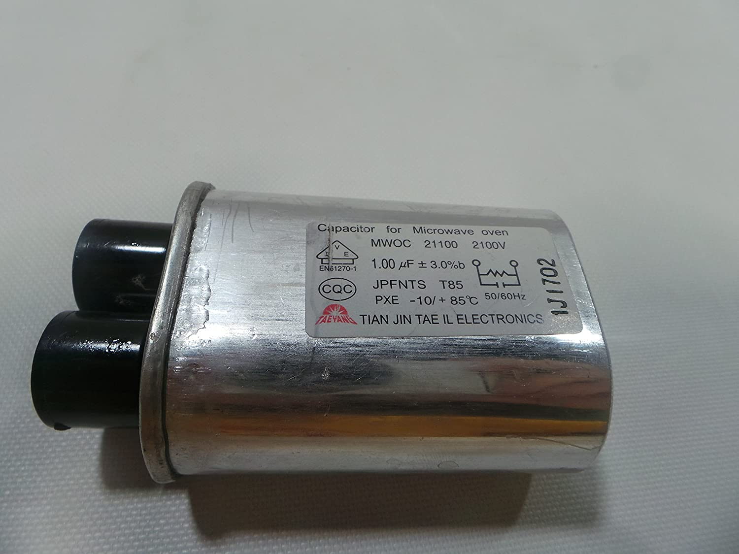 LG MWOC211002100V Microwave High Voltage Capacitor